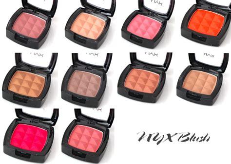 Nyx Powder Blush makeupmarlin nyx powder blush swatches