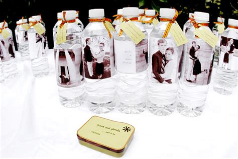 Wedding Favors Water Bottles by Bottle Wedding Favors Toledo Wedding Planner
