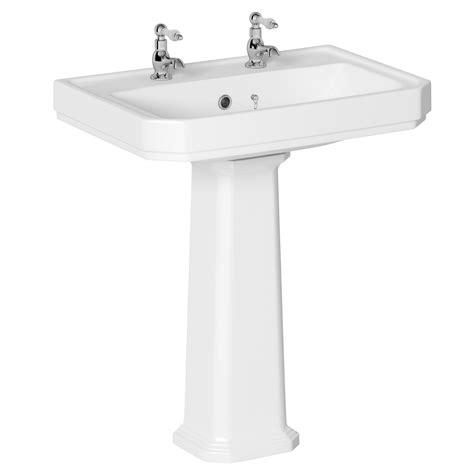 b q sinks bathroom cooke lewis serina pedestal basin departments