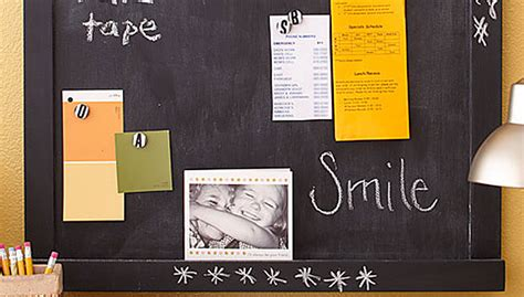 quot take note quot magnetic chalkboard