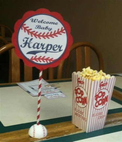 baseball baby shower table decorations most reproducibles