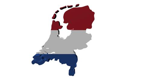 netherlands map and flag netherlands map and flag