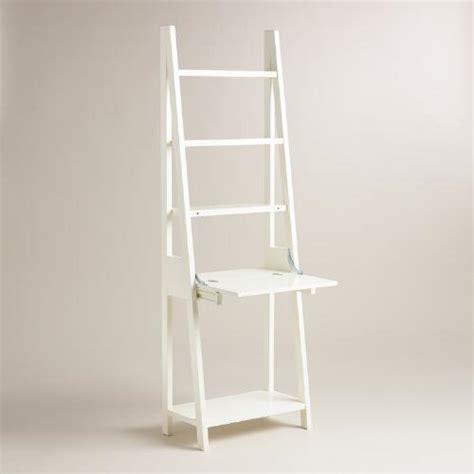 white josephine desk white lacquer josephine bookcase with work surface world