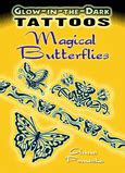 Butterfly Fairies Stained Glass Coloring Book