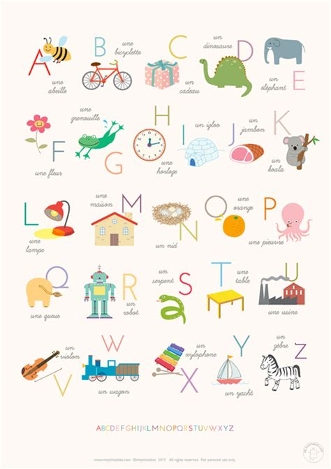 Posters Printable Printable Alphabet Posters Mr Printables