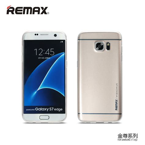 Murah Cocose Samsung Galaxy S7 Edge Tpu S Murah remax kingzone series tpu protective soft for samsung galaxy s7 edge golden