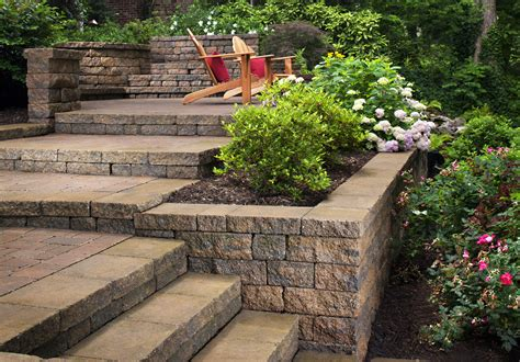 landscape designs for backyard slopes landscaping ideas for hillside backyard slope solutions install it direct