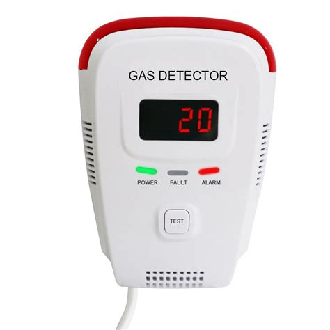Alarm Gas Lpg voice warning and digital display in combustible