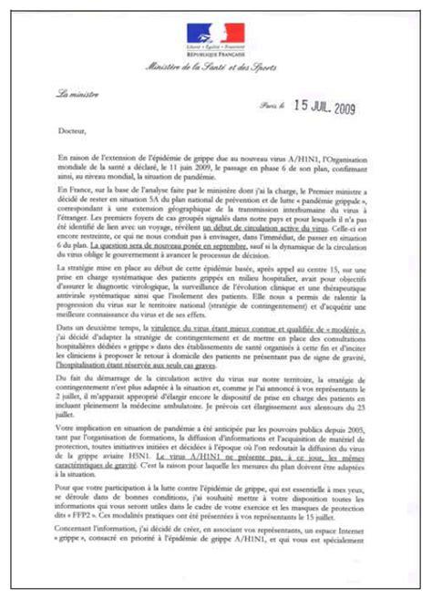 Exemple De Lettre D Invitation à Un Ministre Modele Lettre A Un Ministre Gratuit Document