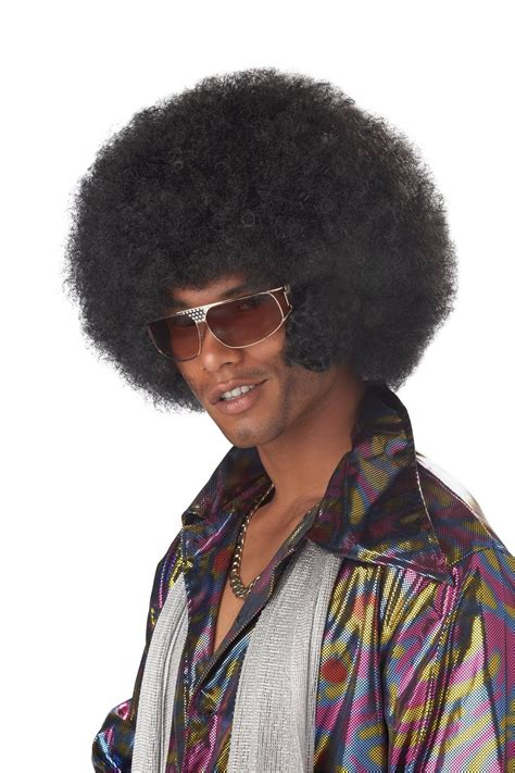 afro hairstyles of the 70 s afro chops wig