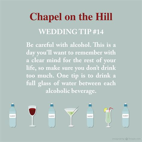 Wedding Tips wedding tips chapel on the hill