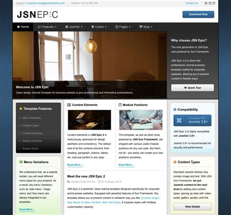 jsn templates joomlashine templates demo