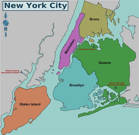 map of new york usa new york usa world financial center travel featured