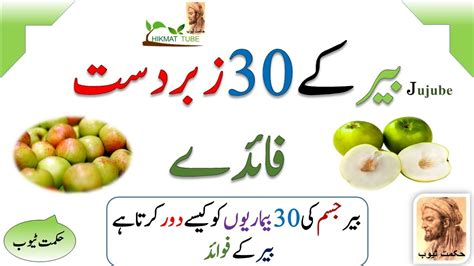 fruits ke fayde jujube fruit benefits ke fayde benefits in urdu