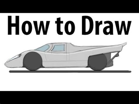 Porsche 917 Sketches Of Success by How To Draw A Porsche 917 Sketch It