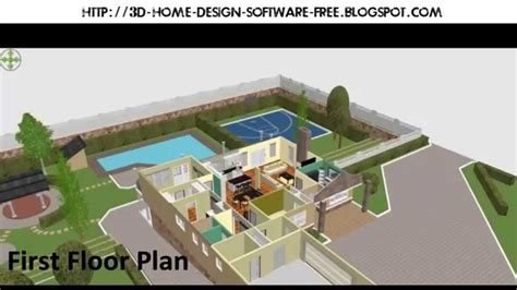 Best 3D Home Design Software for Win XP/7/8 Mac OS Linux [Free Download] YouTube