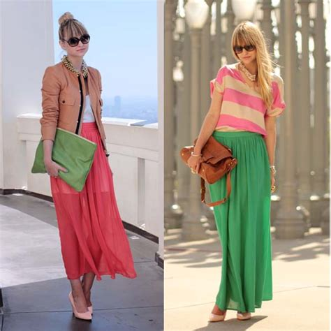 skirts for how to wear a sheer maxi skirt