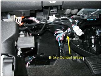 aftermarket brake control wiring   current gm full size truck  factory integrated brake