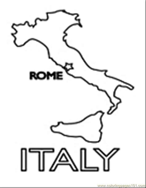 italy coloring pages coloring pages italy02 countries gt italy free
