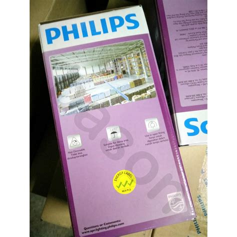 Philips Led 23w By Happy Listrik philips led bulb 23w e27 6500k 230v a110 apr putih