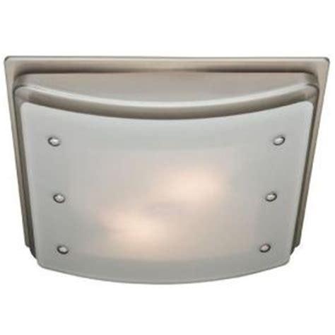 brushed nickel bathroom exhaust fan hunter ellipse decorative brushed nickel trim 100 cfm