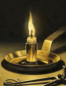 pieter claesz still with lighted candle