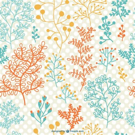 pattern flower problem seamless flowers pattern vector free download