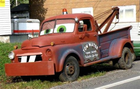 mater truck tow mater tow truck this truck was spotted sitting along