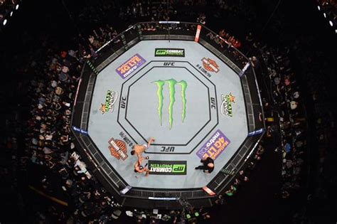 energy drink sponsorship the gallery for gt empty ufc octagon