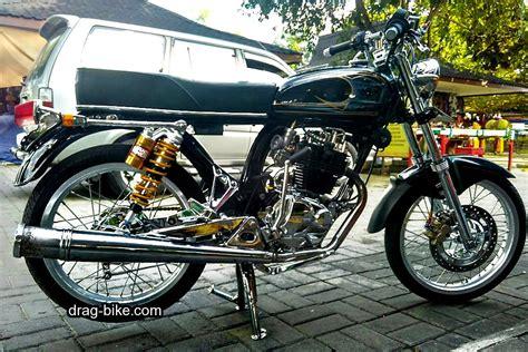 foto gambar modifikasi honda cb  klasik jap style