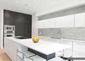 Modern White Kitchen Backsplash Gallery For Gt Gray Backsplash