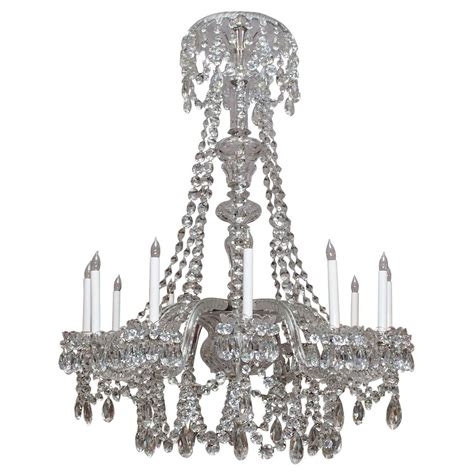 Waterford Chandelier Antique Waterford Lead Early 19th Century