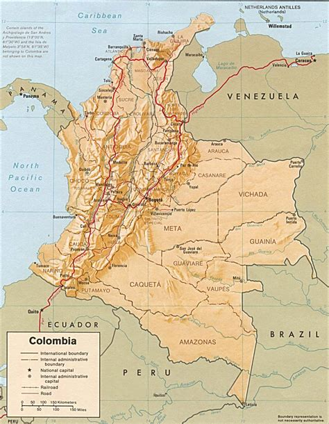 map of colombia in south america colombia map colombia political map colombia travel map