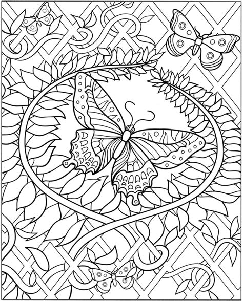 Welcome To Dover Publications Dover Coloring Pages Printable