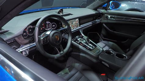 porsche cars interior 2017 porsche panamera 4s and turbo every techie s dream