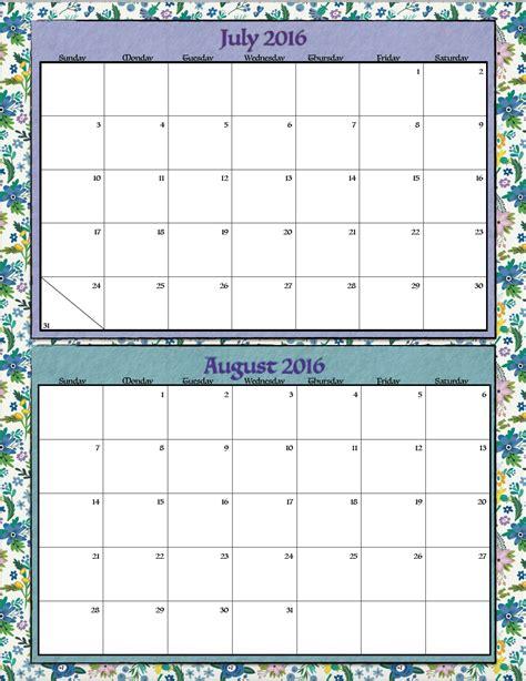 bi monthly calendar template free printavle bi monthly 2016 calendars calendar