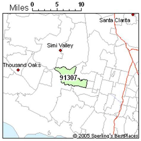hill ca zip best place to live in west zip 91307 california