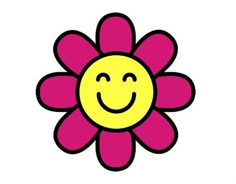 imagenes flores simples desenho de flor simples pintado e colorido por anacfr o