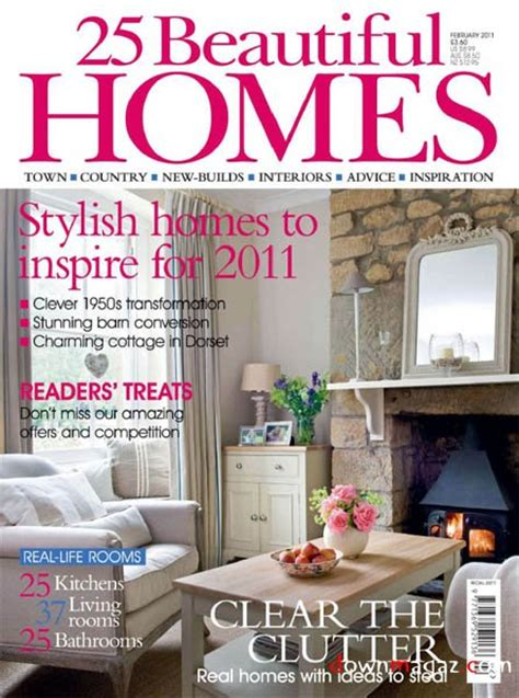 beautiful home design magazines 25 beautiful homes february 2011 187 download pdf