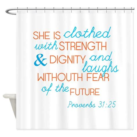 shower curtains for women proverbs 31 woman shower curtain by heroicheart