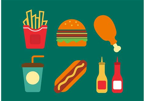 food vector fast food vectors free vector stock