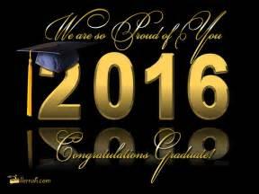 congratulations to the graduate