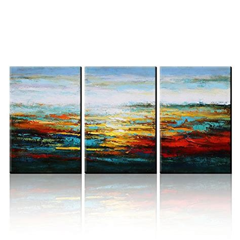 best buy home decor asmork canvas oil paintings abstract wall art