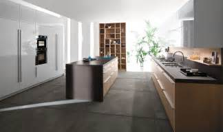 Concrete Kitchen Floor Concrete Floor Kitchen Interior Design Ideas