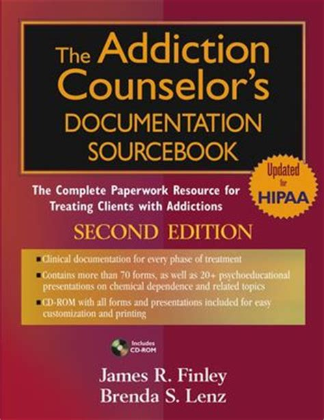 Detox Counselor Description by Wiley The Addiction Counselor S Documentation Sourcebook