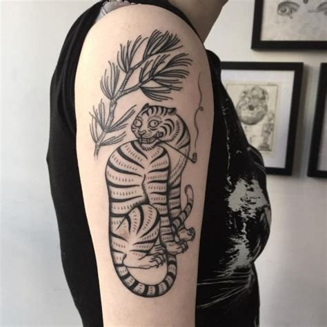 korean tiger tattoo 31 best tattoos images on ideas