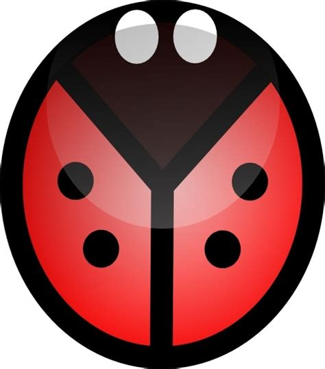 ladybug clip art  vector  open office drawing svg