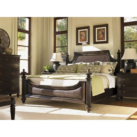 bahama bedroom furniture bahama 537 134c royal kahala harbour king point bed in kona homeclick