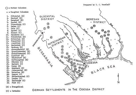 russia odessa map grossliebental district odessa russia regional interest