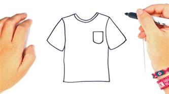 one t draw how to draw a t shirt step by step